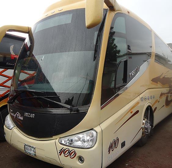 autobus turistico en renta de super lujo