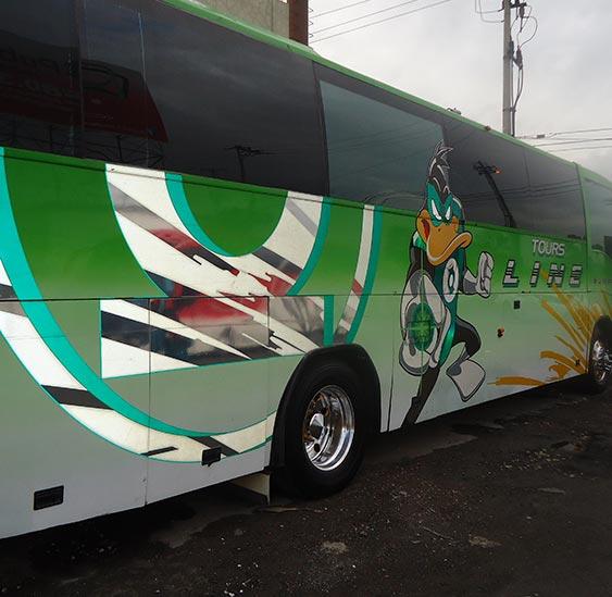 autobus turistico de super lujo
