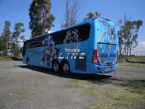 renta de autobuses ejecutivos